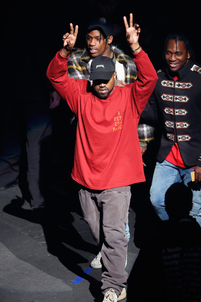 Kanye West at Yeezy Season 3's presentation in New York City. Photo: JP Yim/Getty Images for Yeezy Season 3