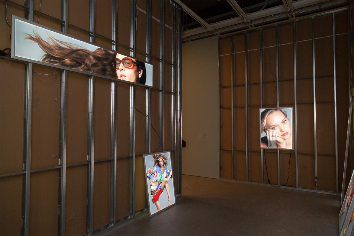 "Inside ""Eckhaus Latta: Possessed."" Photo: Thomas McCarty"