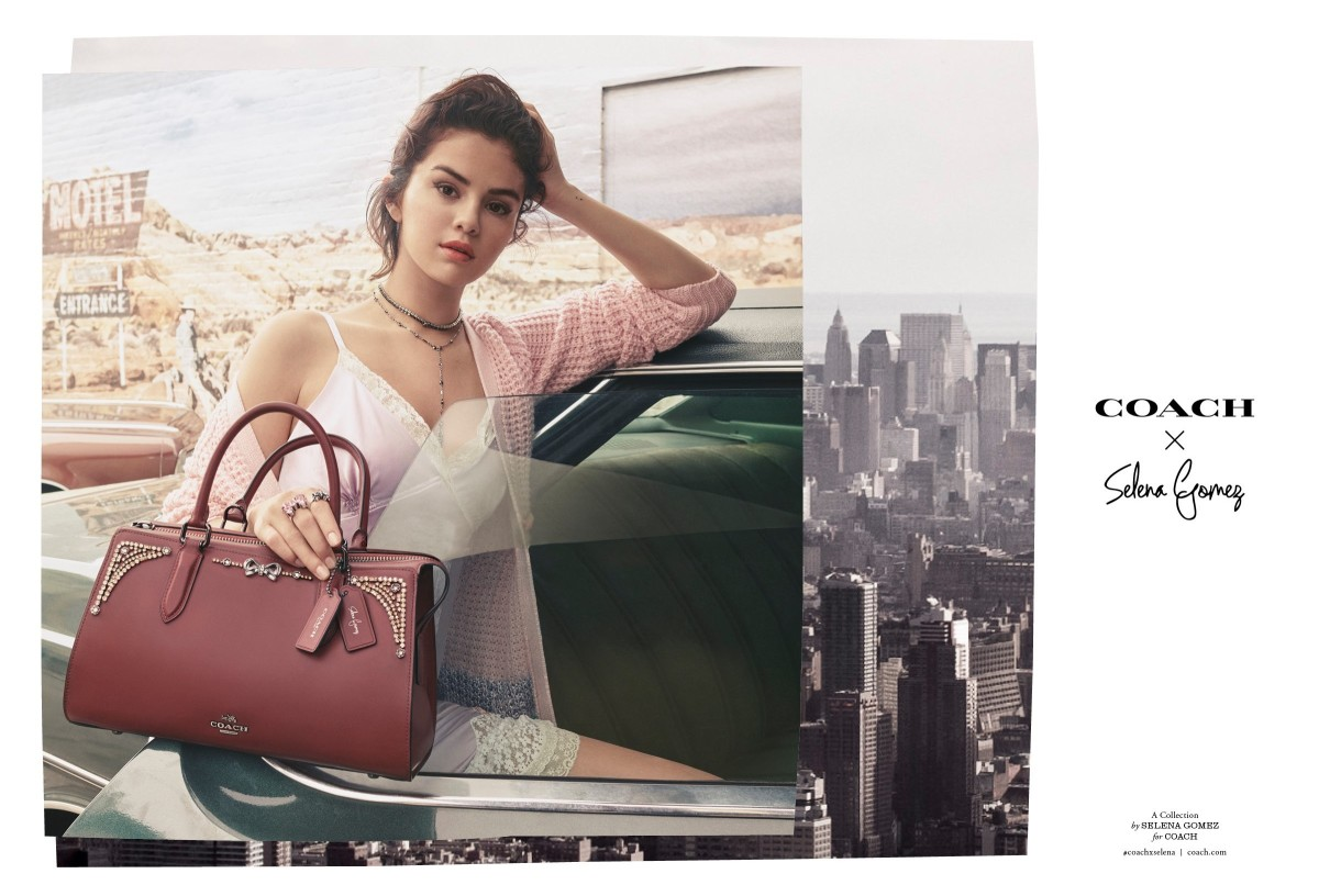 05cc7851 See the Campaign for Selena Gomez's Second Collaboration With Coach ...