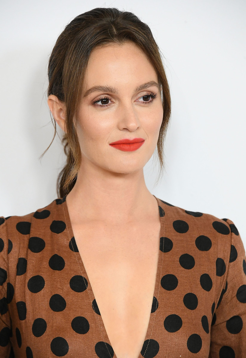 Leighton Meester in Zimmermann at the Disney ABC Television Hosts TCA Summer Press Tour. Photo: Steve Granitz/WireImage