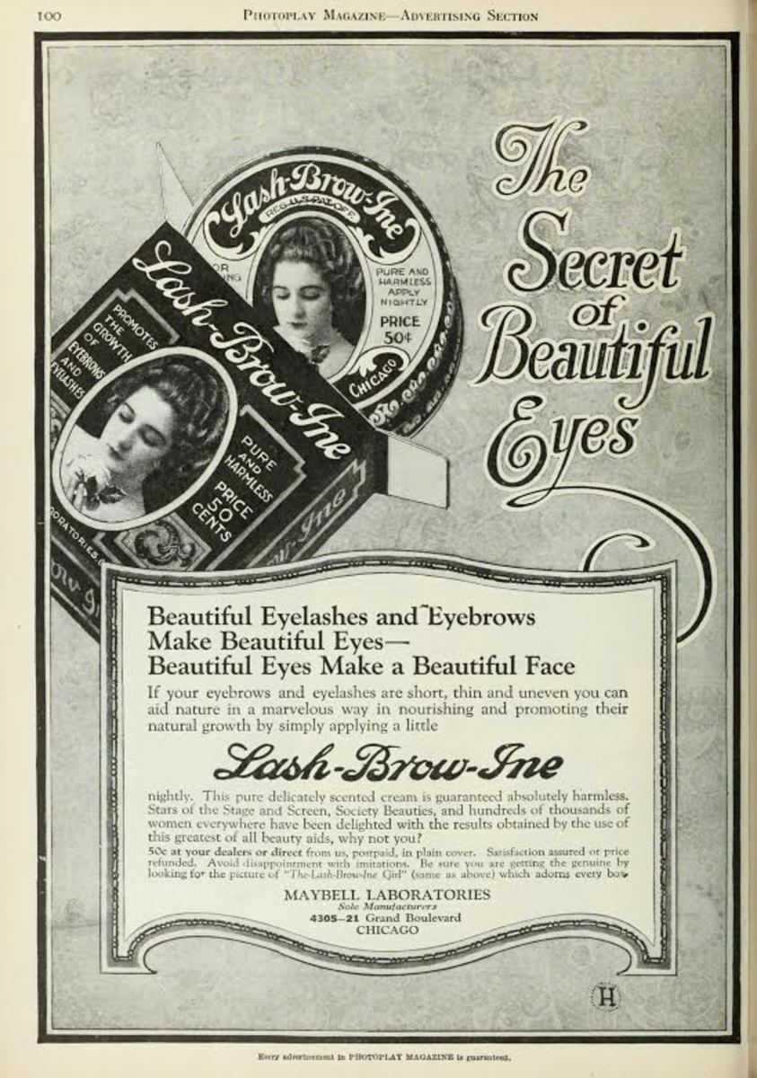 A vintage Maybelline ad. Photo: Courtesy