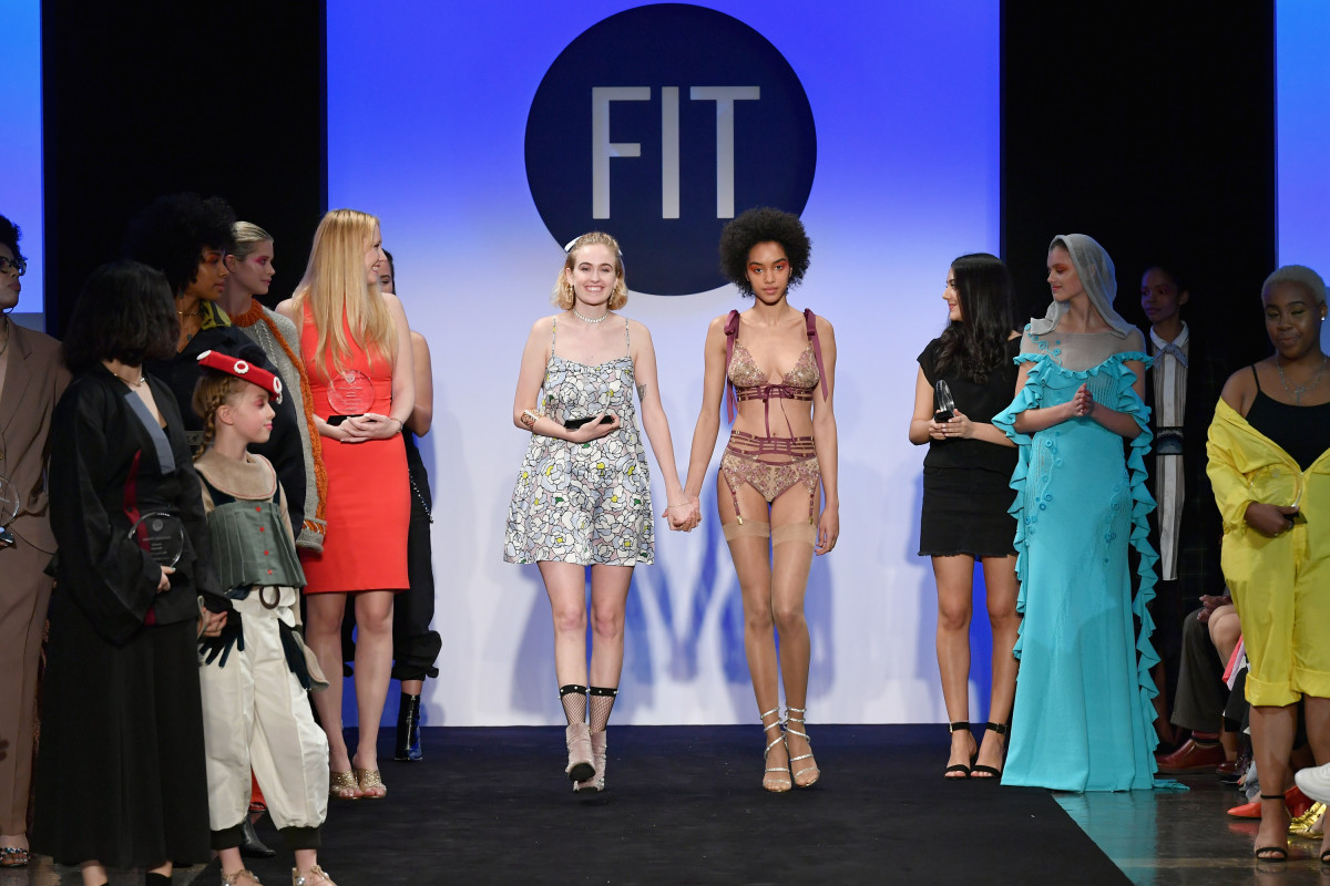 The 2018 FIT Future of Fashion runway show. Photo: Slaven Vlasic/Getty Images