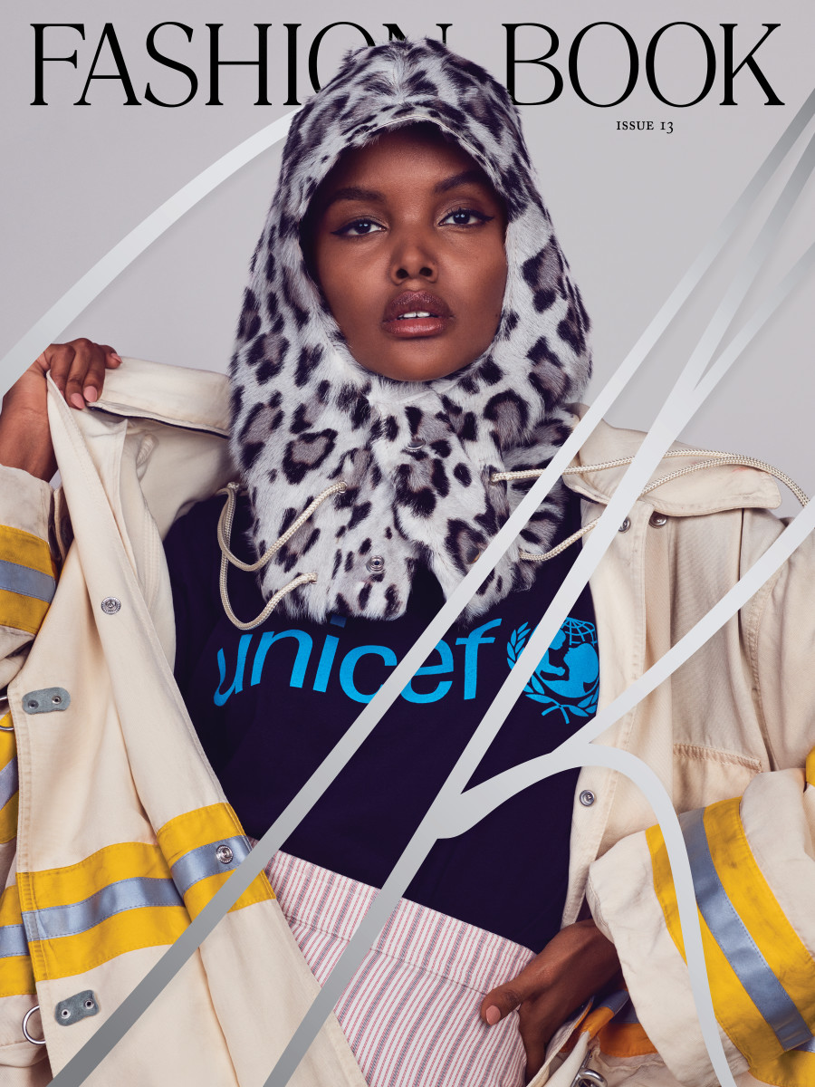 "Halima Aden on the cover of ""CR Fashion Book"" 13. Photo: Pieter Hugo"