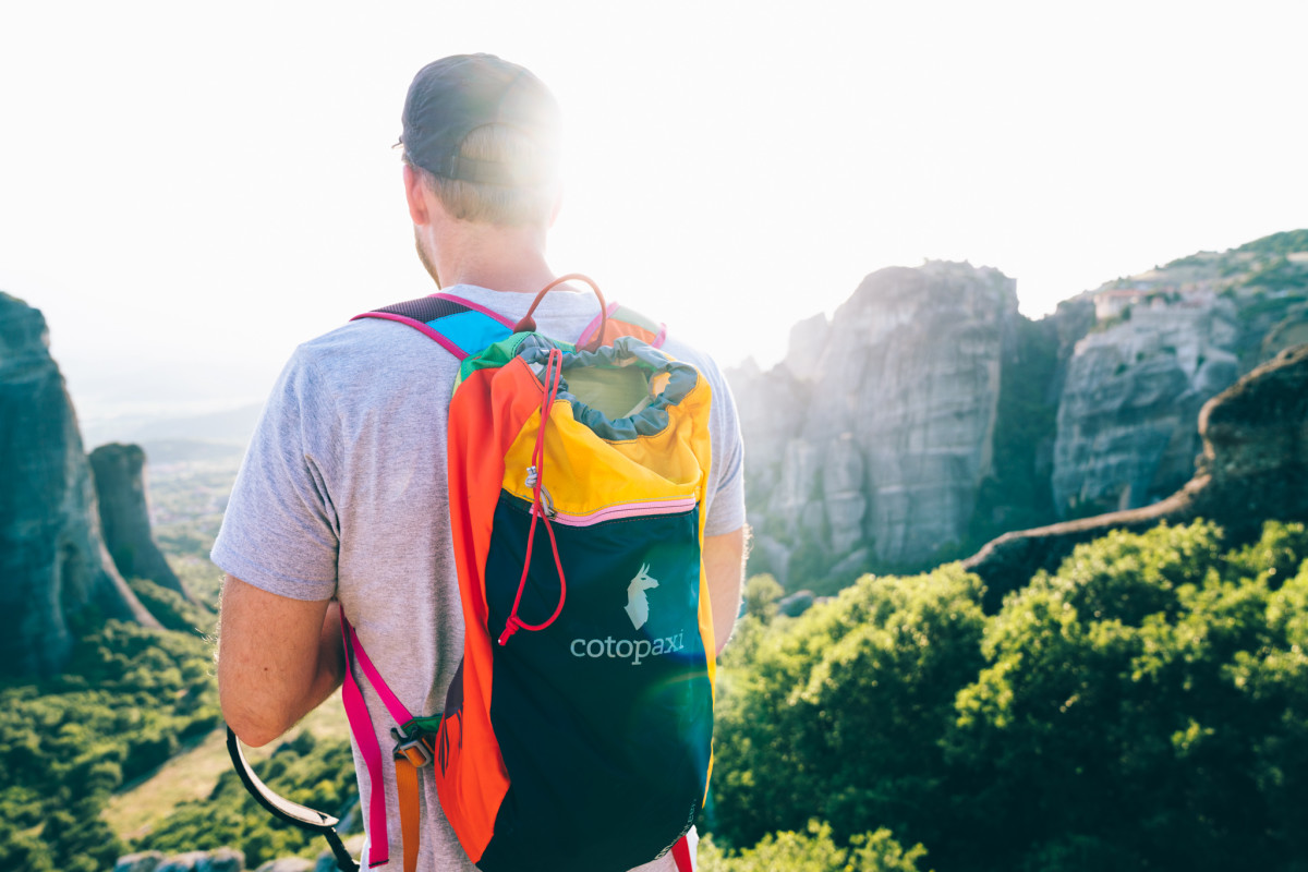 A backpack from Cotopaxi, a certified B Corp. Photo: Cotopaxi