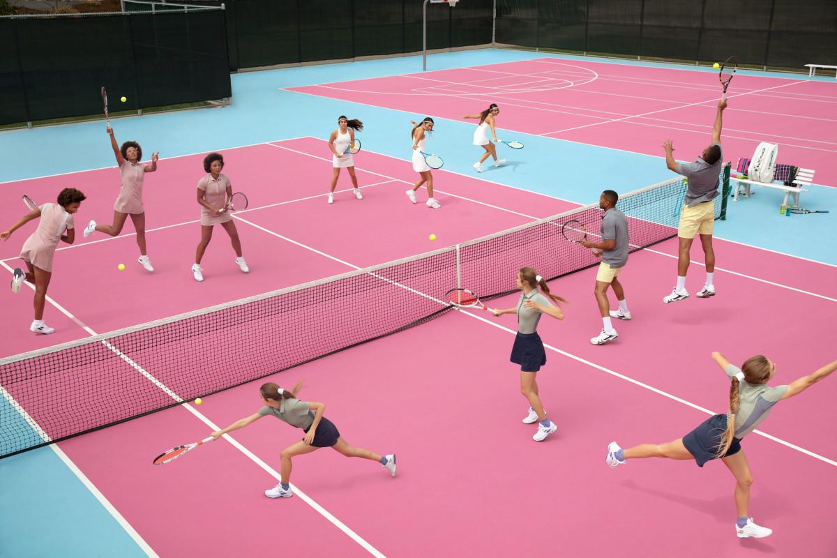 Outdoor Voices tennis collection. Photo: Outdoor Voices