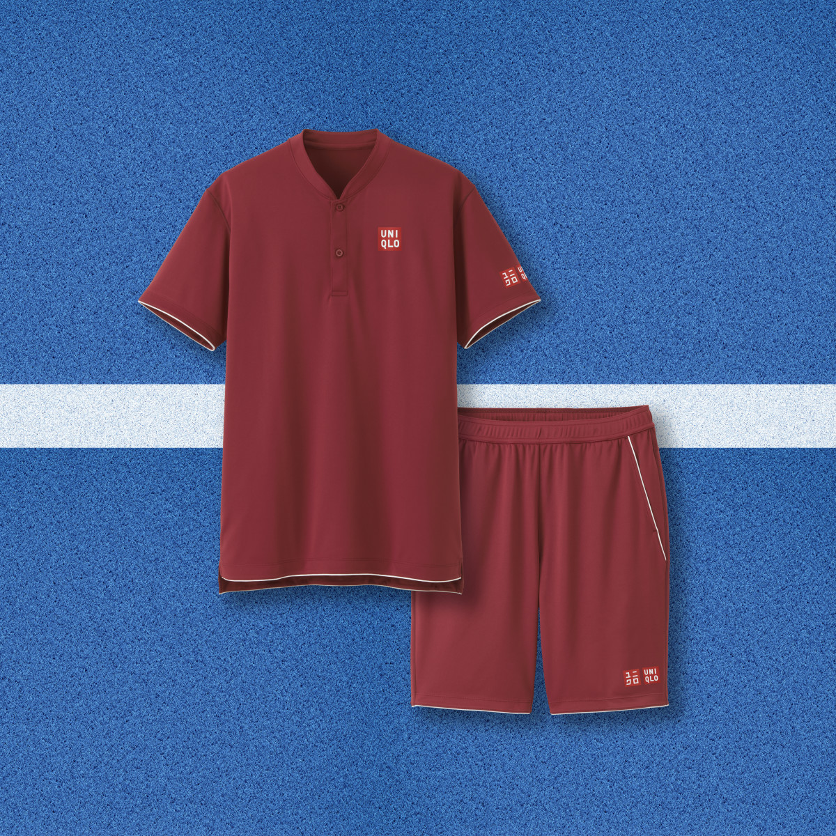 Roger Federer's Uniqlo outfit for the 2018 U.S. Open. Photo: Uniqlo