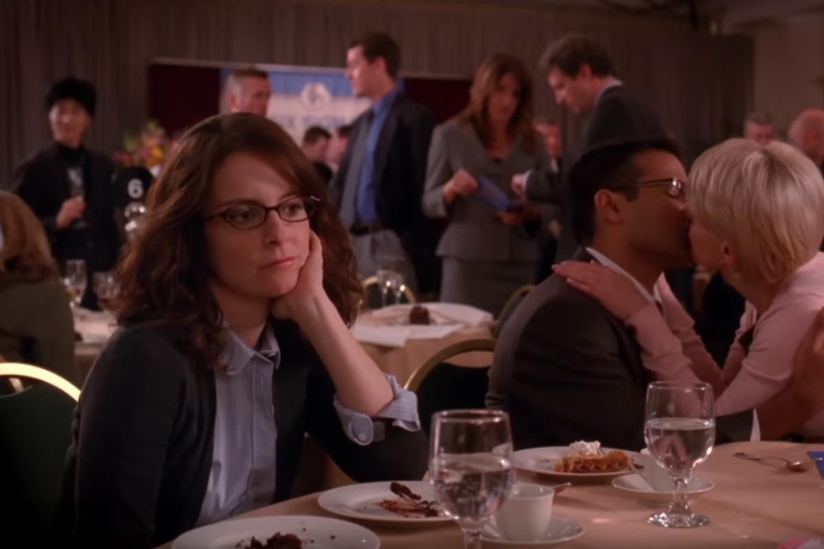 """30 Rock""'s Liz Lemon, in Season 3, Episode 9, ""Retreat to Move Forward."" Screengrab: YouTube"