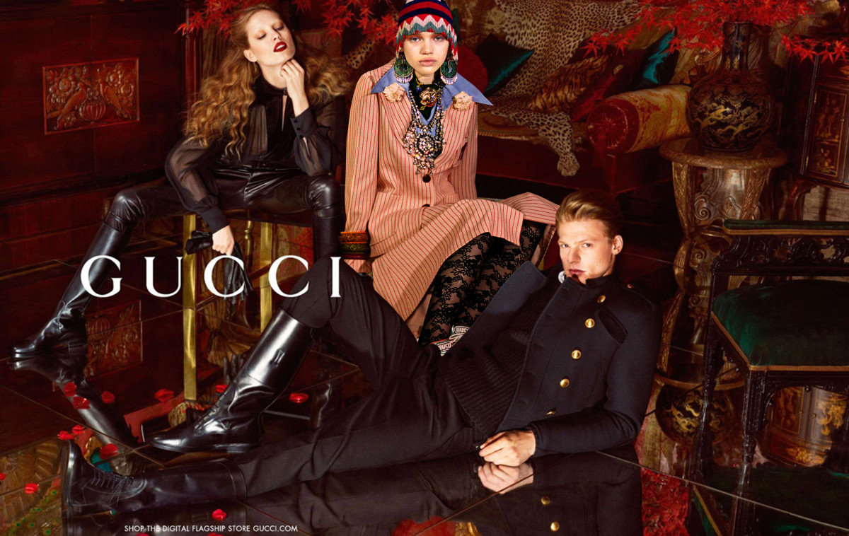 2019 year look- Fall gucci ad campaign