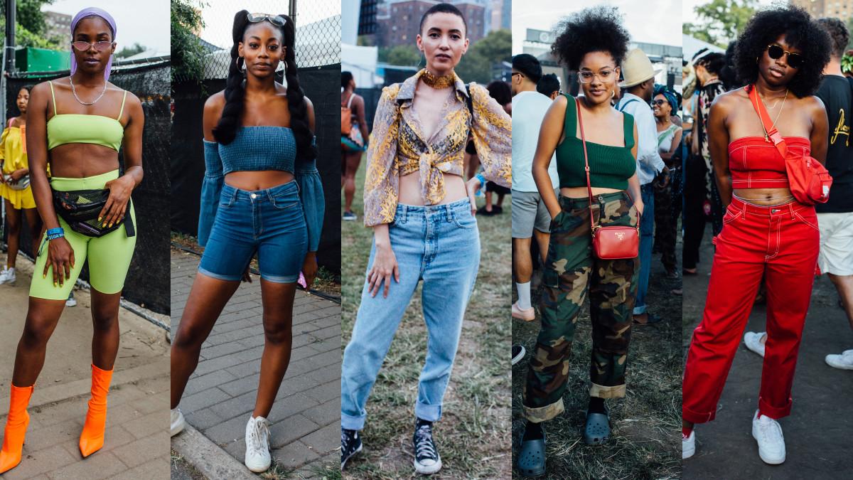 Crop tops. Photos: Emily Malan/Fashionista