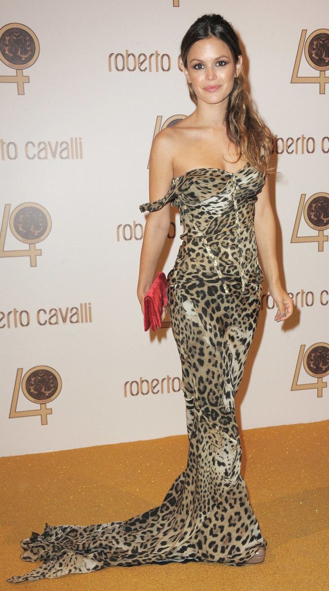 Rachel Bilson in Roberto Cavalli at a Paris Fashion Week party in 2010. Photo: Pascal Le Segretain/Getty Images