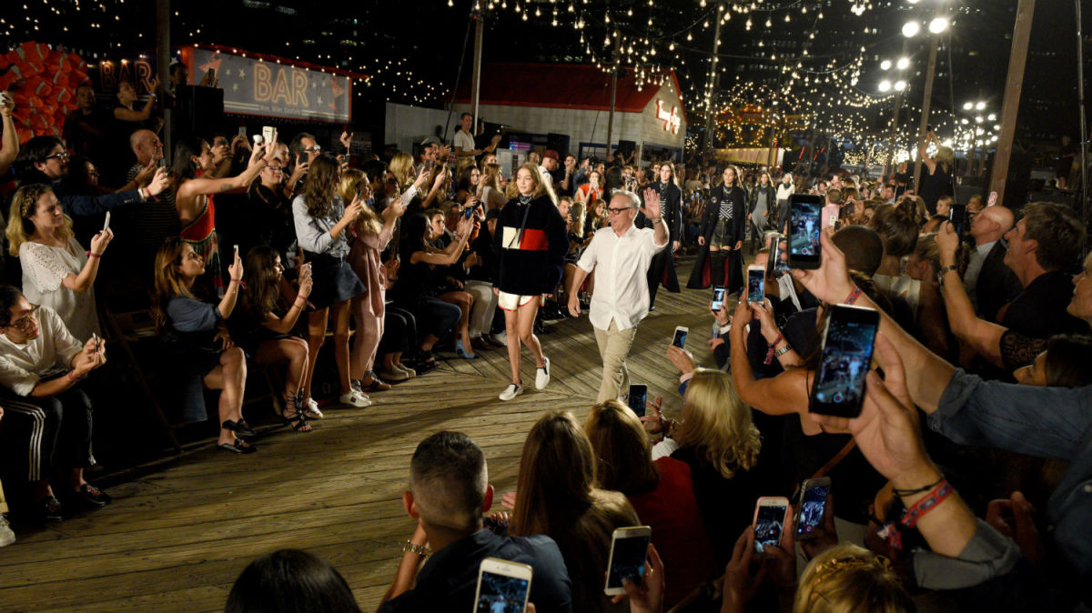 e63a78005 Watch the Tommy Hilfiger Runway Show Live - Fashionista