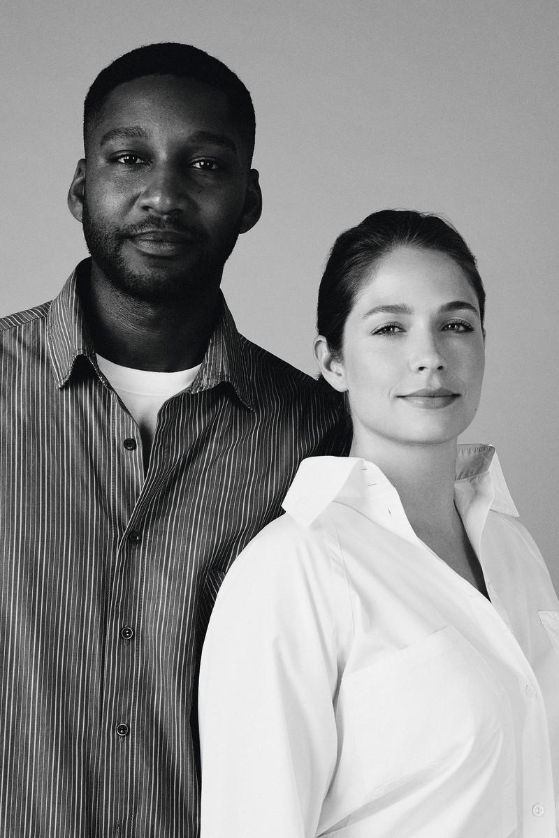 Rushemy Botter and Lisi Herrebrugh. Photo: Leon Mark