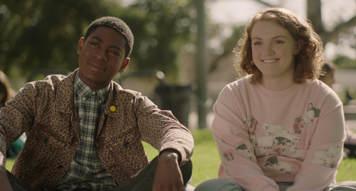 sierra burgess is a loser rj cyler shannon purser - The Costumes in 'Sierra Burgess Is a Loser' Pay Homage to Teen Classics 'Clueless' and 'Pretty in Pink'
