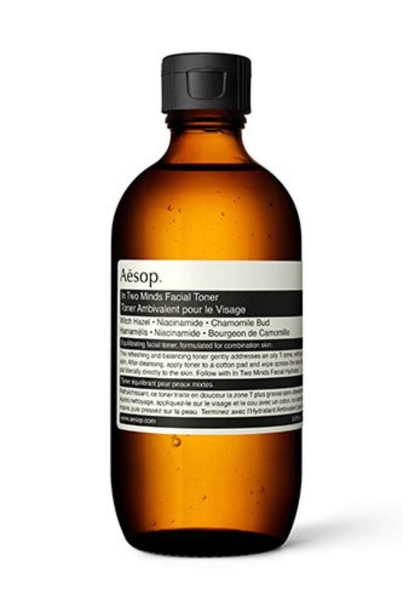 Aesop In Two Minds Facial Toner, $35, available here. Photo: courtesy