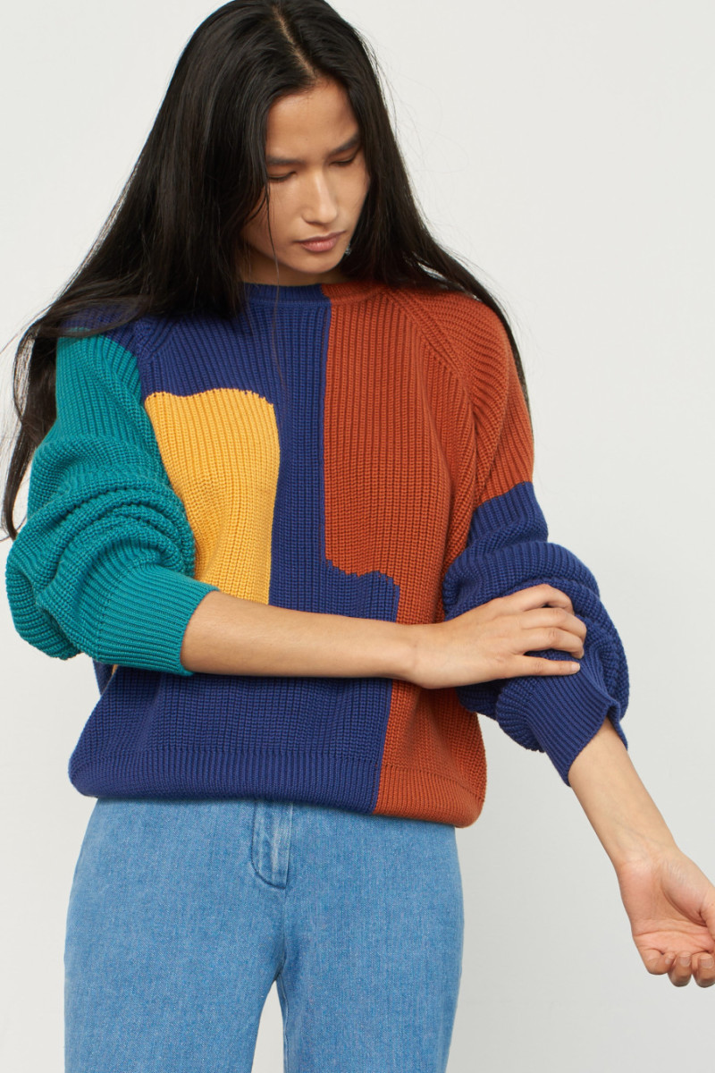 Mara Hoffman Avery sweater, $394, available here