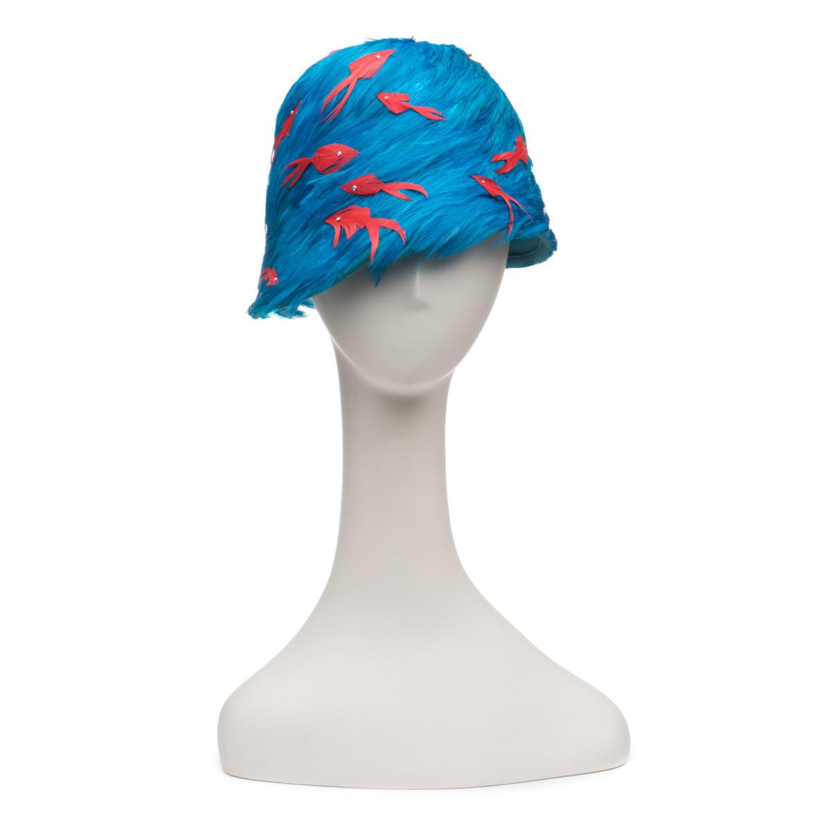 A hat design by Eugenia Kim. Photo: Courtesy