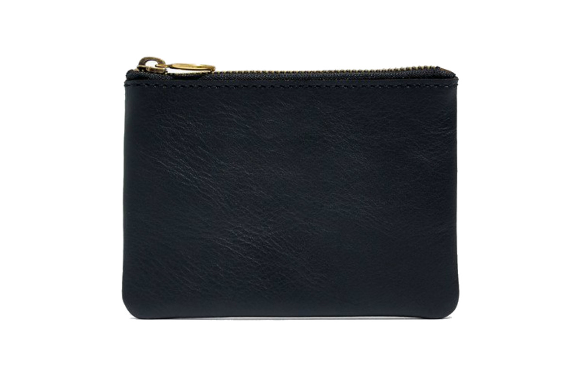 Madewell leather pouch wallet, $29.50, available here.