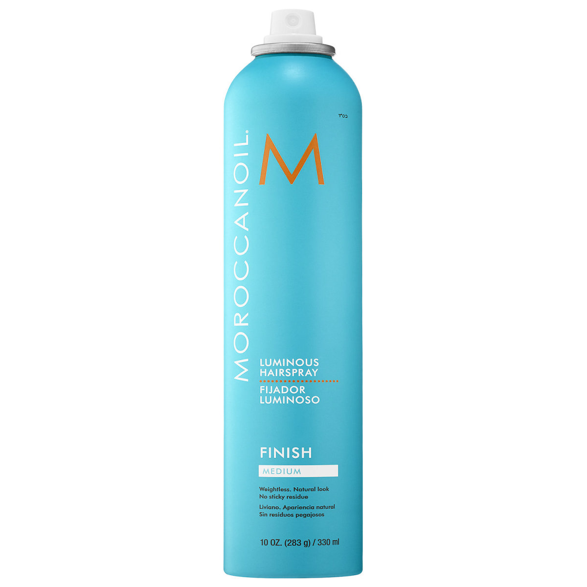 Moroccanoil Luminous Hairspray Medium Finish, $24, available here.