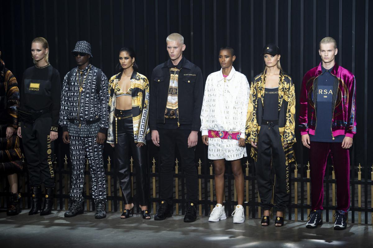 66ad2693524 Kith Debuted Upcoming Versace Collaboration at Its 'Kith Park' Runway Show  - Fashionista