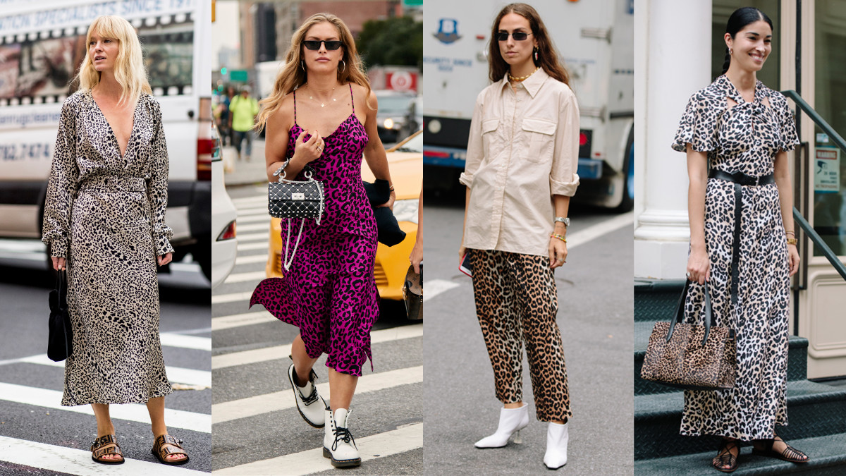 Leopard Print Was a Street Style Favorite on Day 2 of New ...