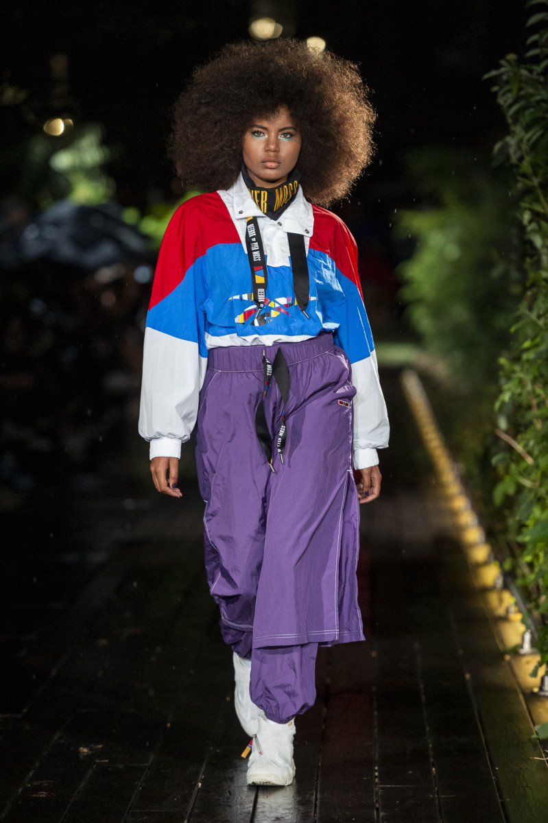 Reebok by Pyer Moss at the Pyer Moss Spring 2019 runway show during New York Fashion Week. Photo: Imaxtree