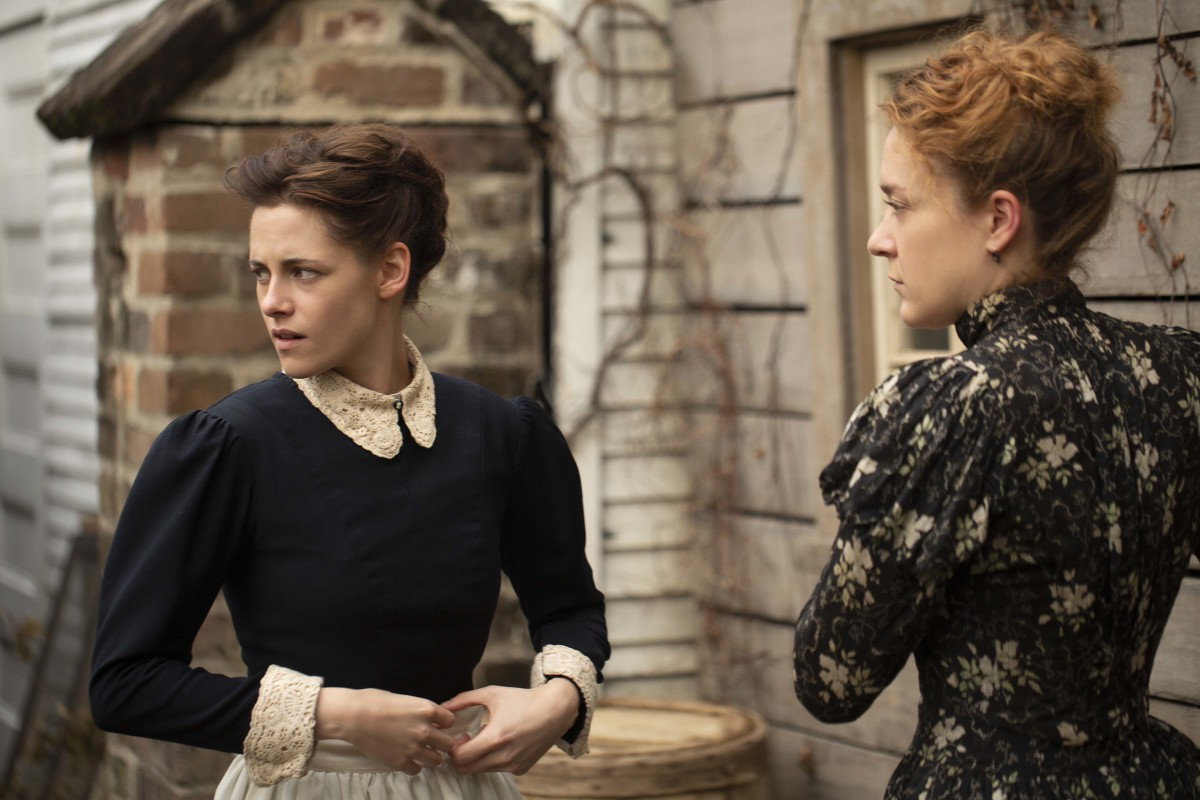 Bridget (Kristen Stewart) and Lizzie. Photo: Eliza Morse/Saban Films and Roadside Attractions