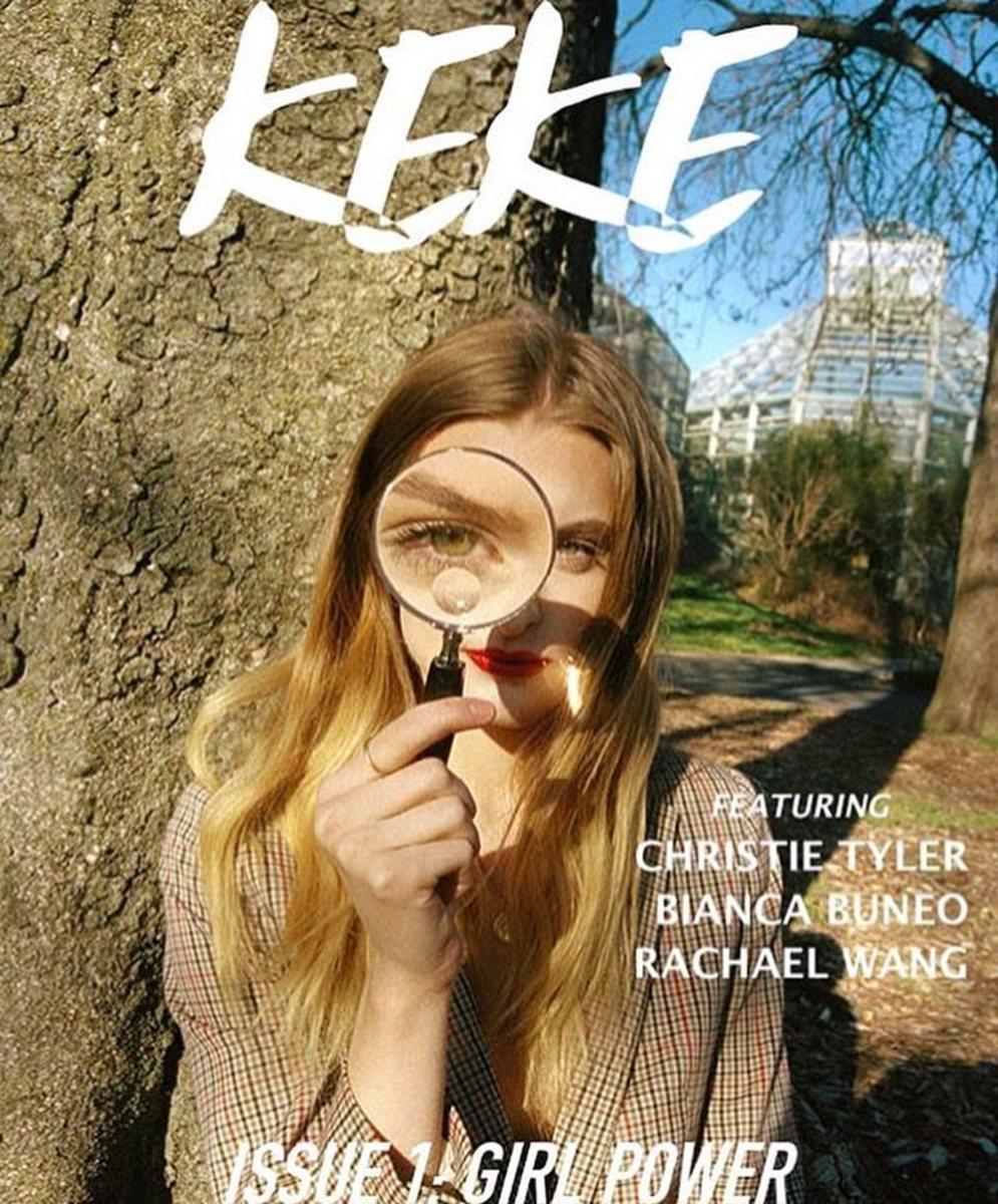 The cover of Keke Magazine's Issue 1. Photo: @kekemagazine/Instagram