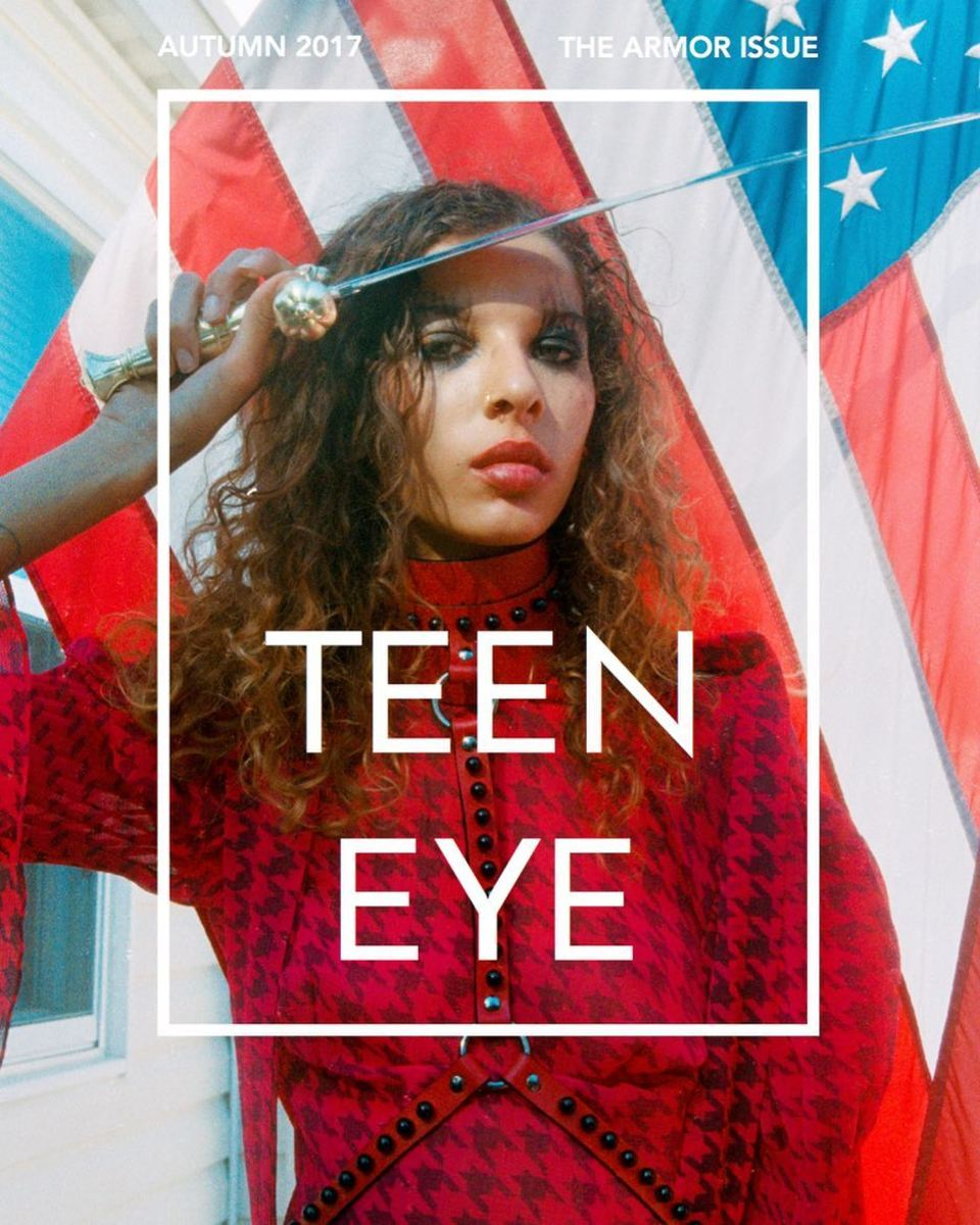 The cover of Teen Eye Magazine's Issue 6. Photo: @teeneyemag/Instagram