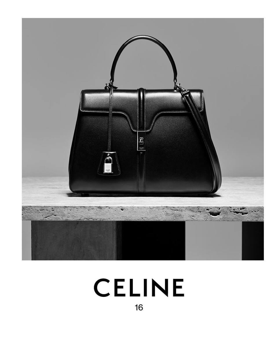 Celine's 16 bag. Photo: @celine/Instagram