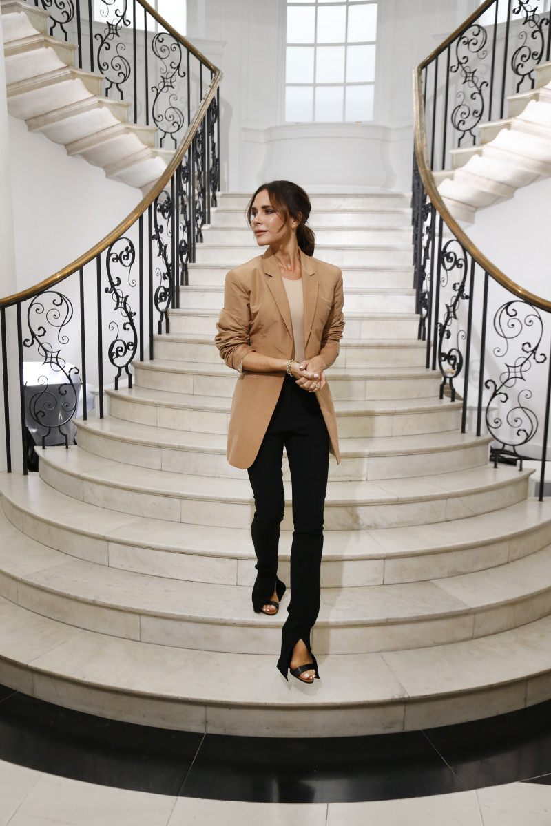 Victoria Beckham at her Spring 2019 runway show during London Fashion Week. Photo: Victoria Beckham