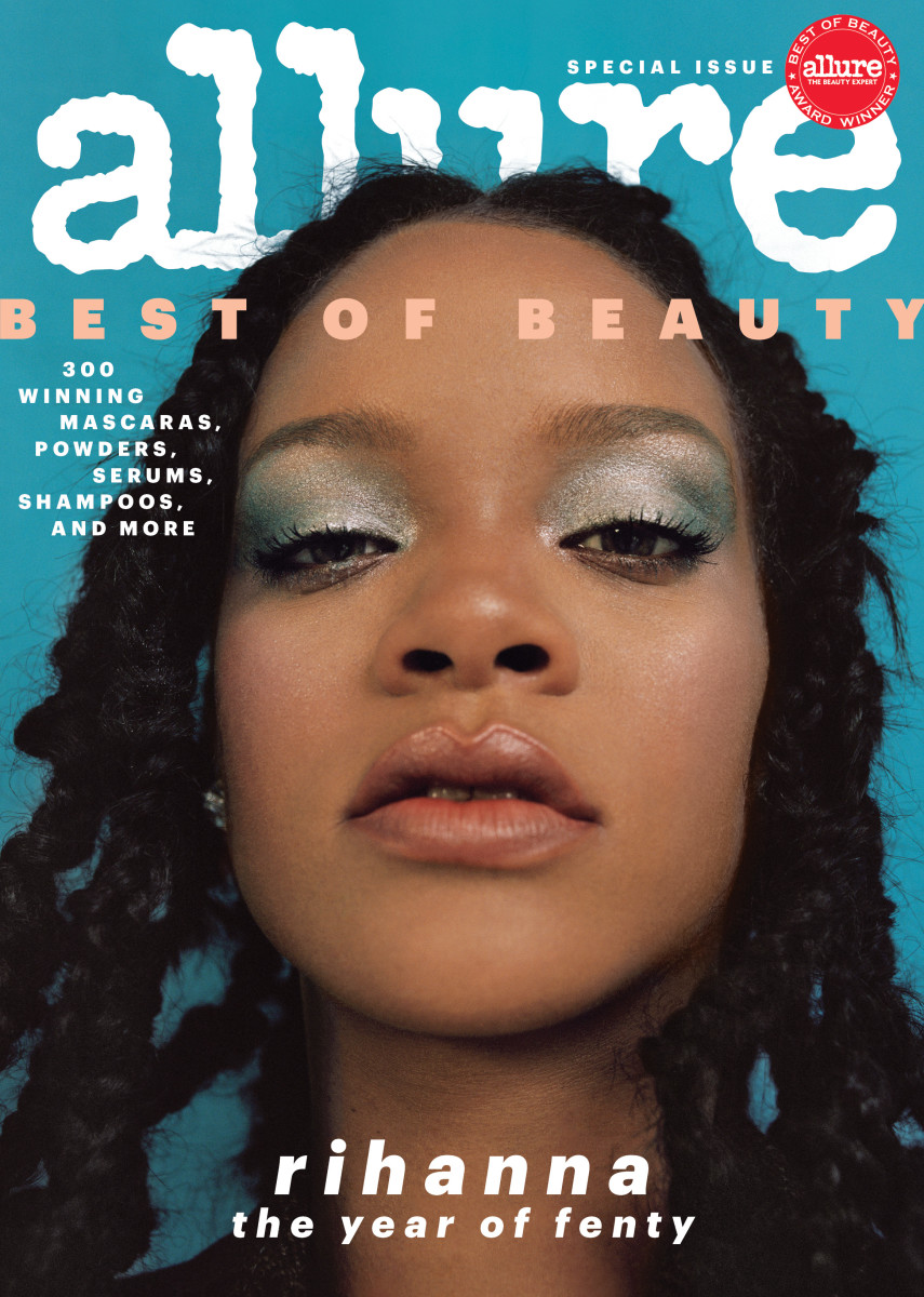 Allure Best Of Beauty 2021 Rihanna Covers 'Allure''s Annual 'Best of Beauty' Issue   Fashionista