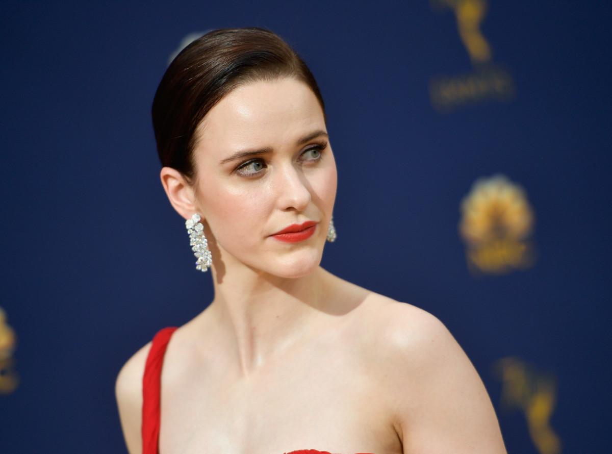 Rachel Brosnahan at the 70th Emmy Awards. Photo: Matt Winkelmeyer/Getty Images