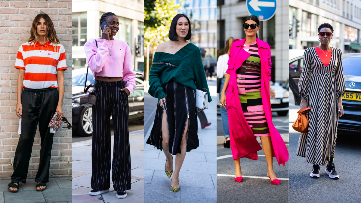 Showgoers Were All About Bold Stripes On Day 4 Of London