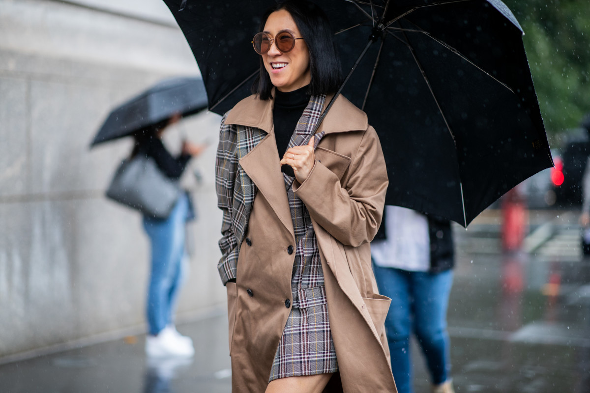 Instagram's Eva Chen on the street at New York Fashion Week. Photo: Christian Vierig/Getty Images)