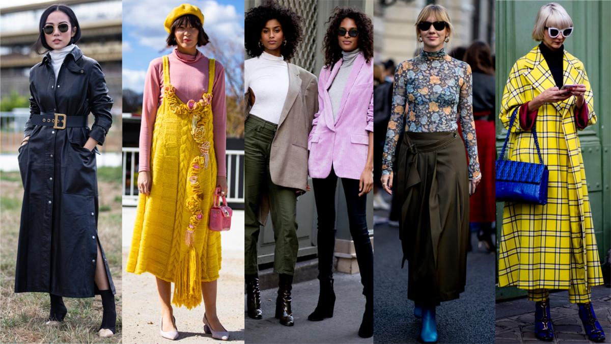 98b8ebe318f3 Turtlenecks at Paris Fashion Week. Photos  Chiara Marina Grioni Fashionista  (2)
