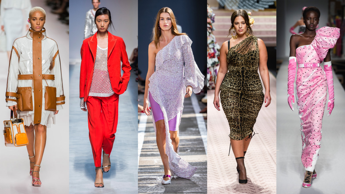 trends week milan spring outfits milano london fendi trendy paris york ss19 dolce gabbana usa styles looks moschino fashionista stripes