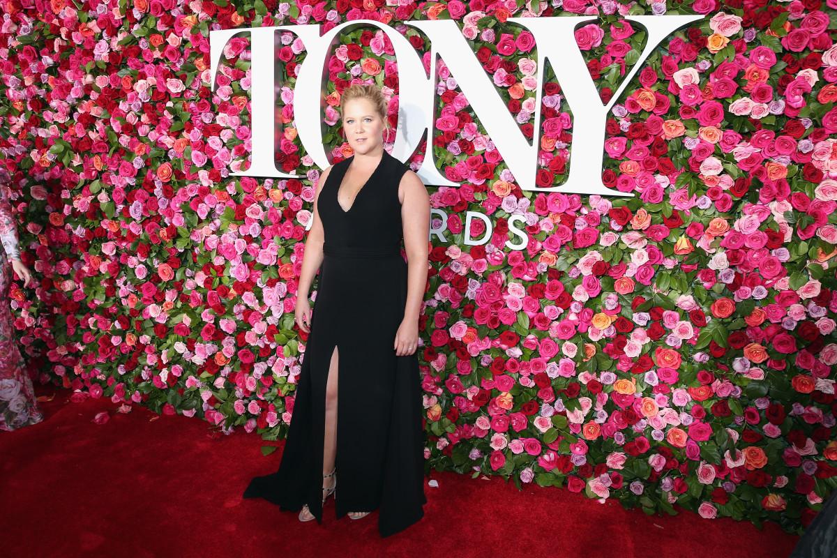 Amy Schumer at the 2018 Tony Awards. Photo: Jemal Countess/Getty Images for Tony Awards Productions