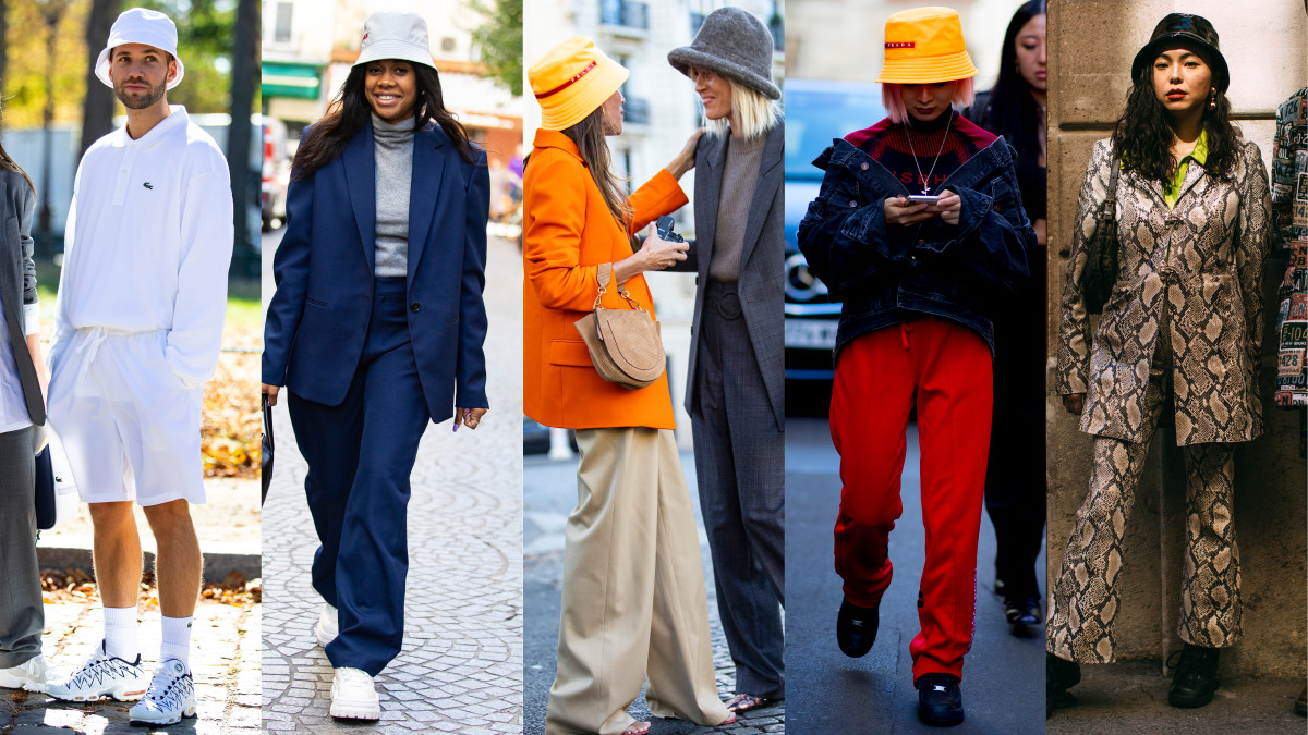 f3c35832dc92d Bucket hats at Paris Fashion Week. Photos  Chiara Marina Grioni Fashionista  (3