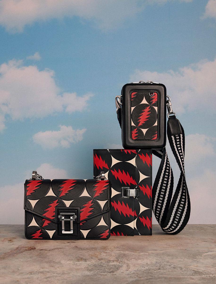 Proenza Schouler x Grateful Dead handbags. Photo: Proenza Schouler