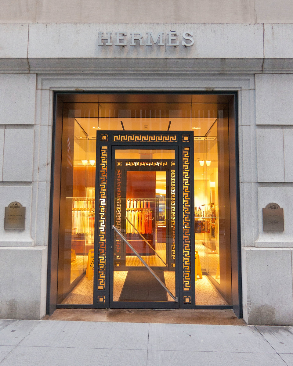 The Hermès store on Wall Street. Photo: Ben Hider/Getty Images