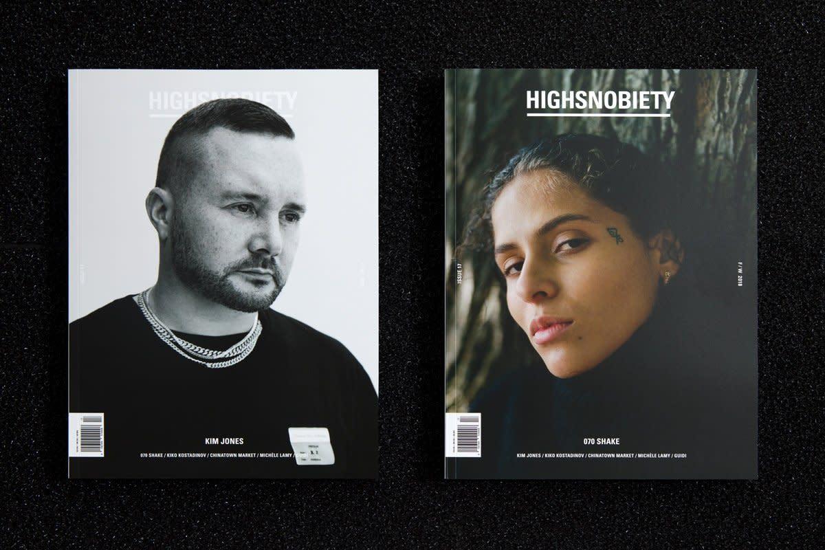 Highsnobiety magazine. Photo:Highsnobiety