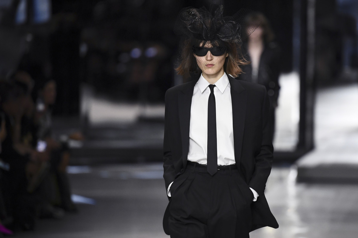 01c9a606c2593 Hedi Slimane Brings His One-Trick Pony Act to Celine for Spring 2019 ...