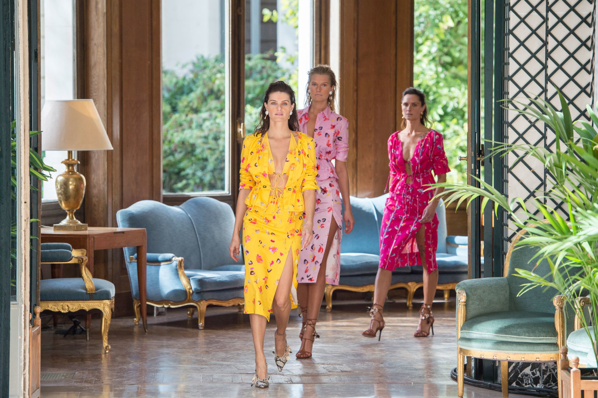 The finale from Altuzarra's Spring 2019 collection. Photo: Imaxtree