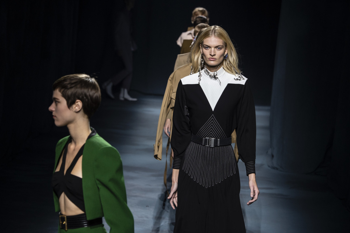 Looks from Givenchy's Spring 2019 collection. Photo: Imaxtree