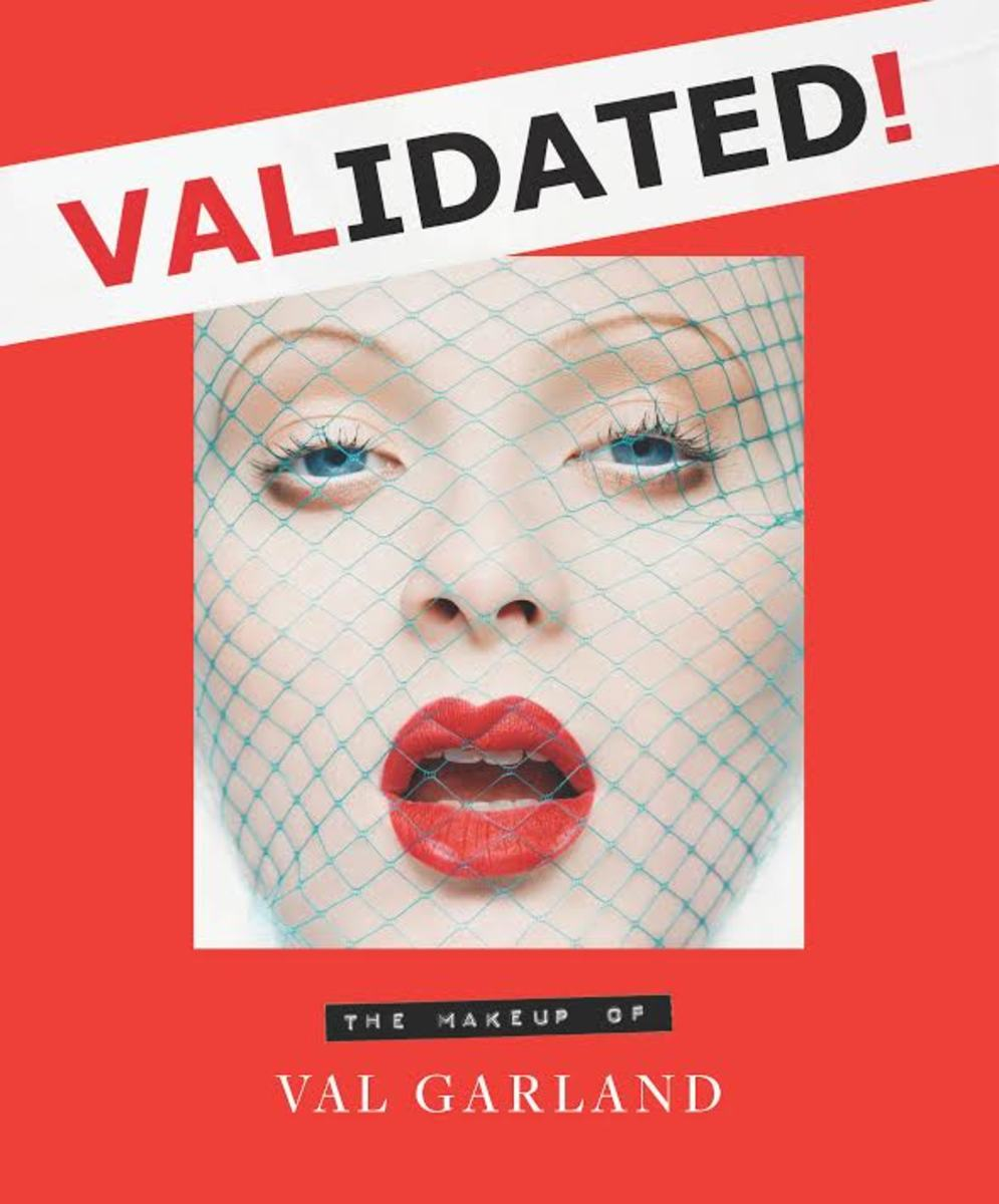 """The cover of """"Validated: The Makeup of Val Garland"""". Photo: Courtesy"""