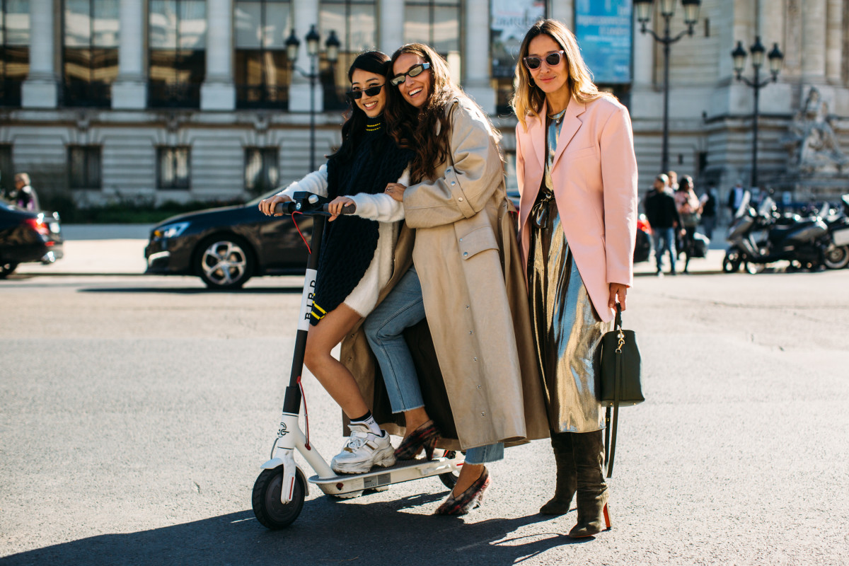 Scooter influencers. Photo: Imaxtree