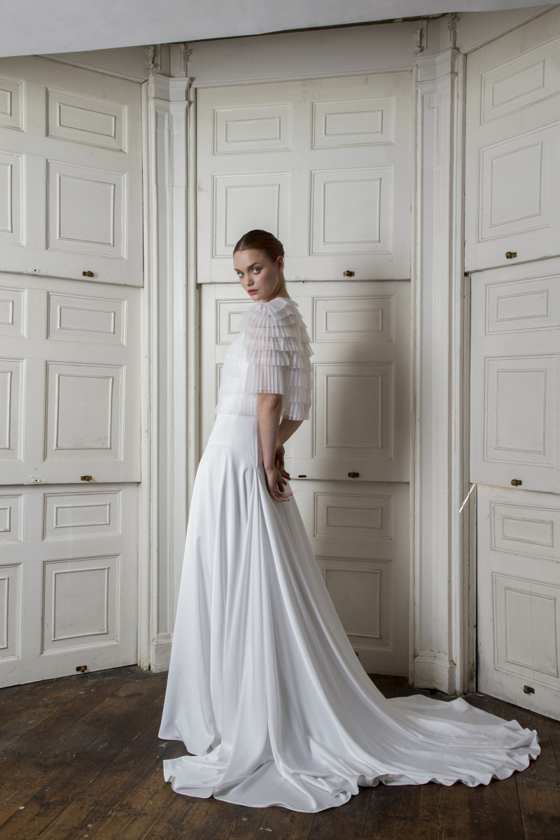 A look from the Halfpenny London Fall 2019 bridal collection. Photo: Courtesy
