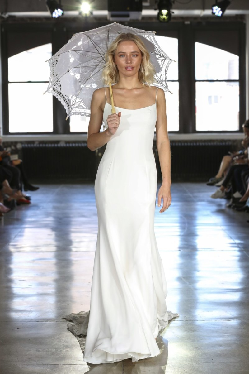 A look from the Watters Fall 2019 bridal collection. Photo: Courtesy