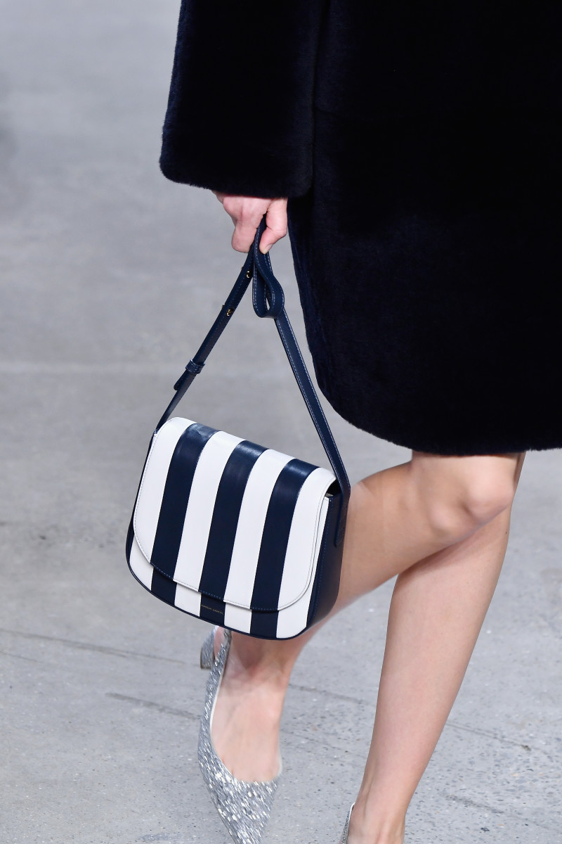 A look from Mansur Gavriel's Fall 2018 collection. Photo: Frazer Harrison/Getty Images