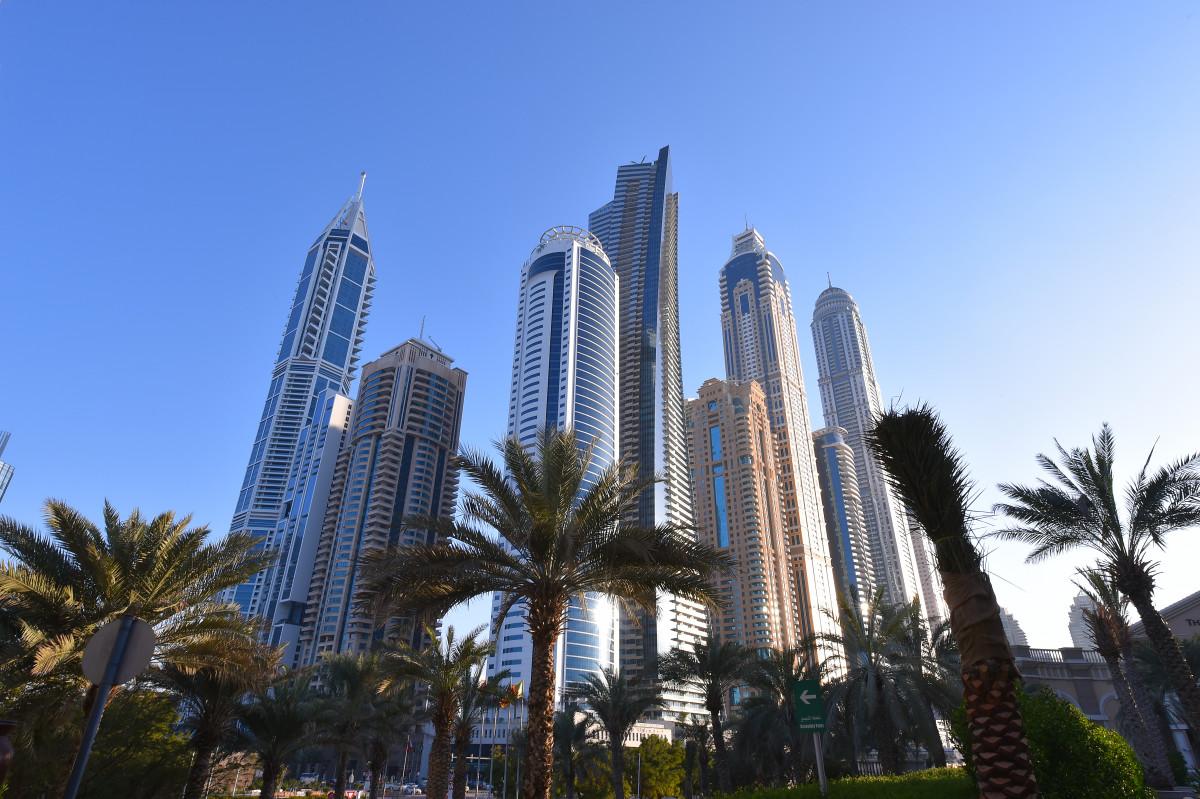 The Dubai skyline. Photo: Tim de Waele/Getty Images